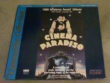 Cinema Paradiso LaserDisc - Italian With English Subtitles