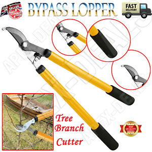 Heavy Duty 21 Inches Handle Garden Tree Branch Cutter Bypass Looper Pruner Saw