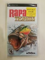 Rapala Trophies (Sony PSP, 2006 Playstation Portable NEW SEALED Fishing FREE S/H