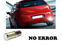 LAMPADA RETROMARCIA NO ERROR 15 LED P21W BA15S CANBUS FIAT GRANDE PUNTO 6000K