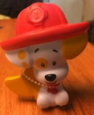 "Fireman Bubble Puppy Bubble Guppies 3.25"" PVC Figure Mattel 2013"