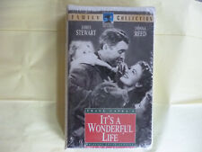 Its a Wonderful Life (Vhs, 1993, Uncut Clam Shell) New Factory Sealed