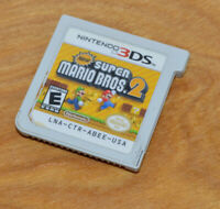 NINTENDO 3DS SUPER MARIO BROS. 2 Video Game Cartridge Only Nice Working
