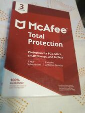 McAfee Total Protection (3 Devices)  NEW