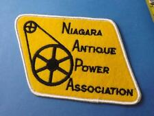 NIAGARA ANTIQUE POWER ASSOCIATION CLUB PATCH TRACTOR FARM AGRICULTURE COLLECTOR