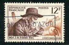 STAMP / TIMBRE FRANCE OBLITERE N° 1055 / CELEBRITE / JH FABRE