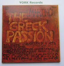 1116 3611/2 - MARTINU - The Greek Passion MACKERRAS - Ex Con 2 LP Record Box Set