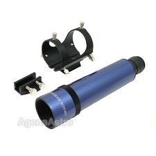 Meade 8x50mm Straight-Through Rear Focus Finder w/ Bracket & Base - Blue # 07828