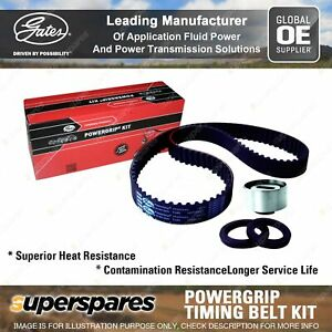 Gates Timing Belt Kit for Ford Festiva WA WB WD WF Laser KB KC KE KF KH Meteor