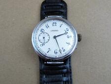 LONGINES Silver 1927-1930's Swiss vintage men's mechanical wristwatch