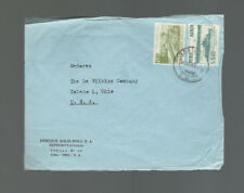 A-1264**PERU c1953 COMMERCIAL AIR MAIL COVER**LIMA TO TOLEDO, OH