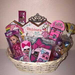 Easter Hamper Gift Basket Egg Hunt Basket Lol Surprise Girls Set