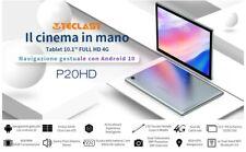 "TECLAST P20HD tablet 10.1""Android 10-4G LTE+Octa-Core-4GB RAM 64 GB-funzione tel"