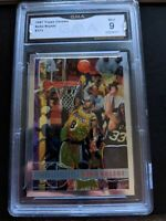 1997-98 KOBE BRYANT TOPPS CHROME 2ND YEAR RC #171 LA LAKERS GMA GEM MINT 9!!