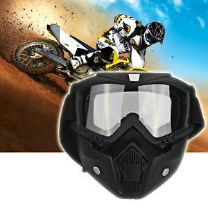 Motorbike Riding Helmet Face Masque Lunettes ATV Bike MTB Glasses Eyewear TP