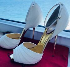 Rare Louboutin 20th anniversary Armadillo's Bride  d'orsay heels - 39 - gorgeous
