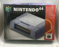Nintendo 64 Controller Pak - BOX ONLY - Authentic - Very Good Cond. - N64
