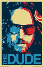 The Big Lebowski The Dude Movie Poster Reprint Print 24X36 (91.5X61cm)