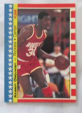 Akeem Hakeem Olajuwon Houston Rockets #3 Basketball 1987 - 1988 Fleer Stickers