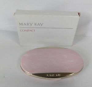 Mary Kay - Pink  Oval Foundation mirror  Compact 4904 - Discontinued ~ 🆕