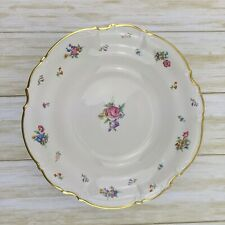"""Hutschenreuther Selb Bavaria Pasco 'The Mayfair' 10"""" Footed Round Serving Bowl"""