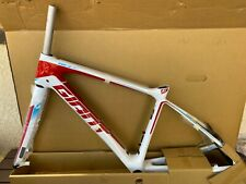 NEW 2015 GIANT DEFY ADVANCED FRAME AND FORK, WHITE/RED/BLUE, XS