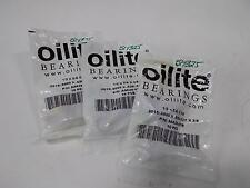 "OILITE PLAIN SLEEVE BUSHING 10 PCS  1/2"" X 5/8"" X 3/8"" LOT OF 3  AA628-07B NIB"