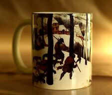 Hunters In The Snow - Bruegel Art Mug