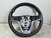 2016 Buick Verano Black Leather Steering Wheel w/ Cruise Radio Controls OEM