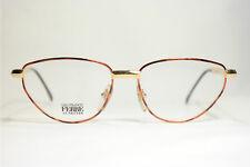 GIANFRANCO FERRE GFF 147 M84 54 20 140 ORO ROJO OVALADO montura de gafas gafas