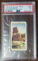 1926 Rome Colosseum - W.D. & H.O. Wills card #42 - PSA 3 - Rare card.