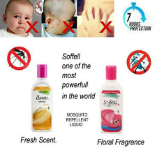 Soffell Mosquito Repellent Lotion Protects Fresh Scent.