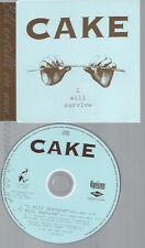 CD--CAKE--WILL SURVIVE--PROMO