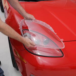 2005-2013 Corvette Headlight Lenses - Pair 684590