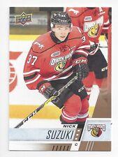 2017-18 Upper Deck CHL #84 Nick Suzuki (Montréal Canadiens)