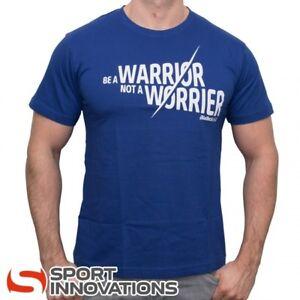 """(14,32€/1Stk) BioTech USA T - Shirt """"A Warrior not A Worrier"""" Fitness Shirt"""