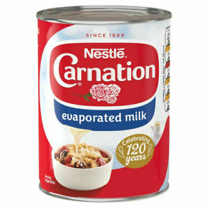 Nestlé Carnation Evaporated Milk, 410 g (Pack of 12)