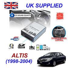 ALTIS 1998-04 MP3 SD USB CD AUX Input Audio Adapter Digital CD Changer Module