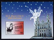 2006 Malta Mozart 250th Birthday Anniv. Miniature Sheet SG MS1508 Unmounted Mint