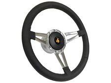 1982 - 1987 Buick Grand National Slot Spoke Leather Steering Wheel, Hub & Button