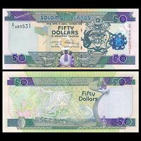 Salomonen / Solomon Islands 50 Dollars, ND 2009, P-29b, UNC