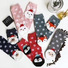 Cute Lovely Christmas Santa Claus Socks Ladies Women Girls Socks Great Quality