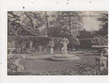 Elihu Yale Sundial Glemham Hall Saxmundham Suffolk Vintage Postcard Crisp 757a