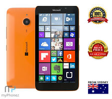 "Nokia Microsoft LUMIA 640 Orange LTE 5"" 8gb Quad Core 8mp Windows Unlocked Oz"