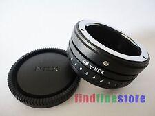 Tilt Olympus OM Lens to Sony E adapter NEX 3 NEX 5 NEX 6 NEX 7 NEX C3 5C 5N 7K