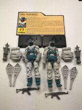 GI Joe Cobra 25th Anniversary Lot Snow Serpent x2 Army Builder