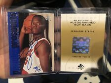 2000-01 SP Authentic JERMAINE O'NEAL  RC AUTO /13 Rookie BUYBACK Autograph UD SP