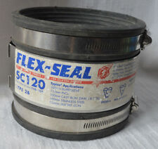 Flex-Seal Standard Coupling 110mm x 121mm Pipe flexseal sc120 adaptor connector