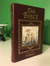 The New American Bible, Illustrated by M.I. Hummel Easton Press Leather KJV