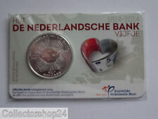 Netherlands Het Nederlandse Bank Vijfje 5 euro 2014 Fdc Coincard